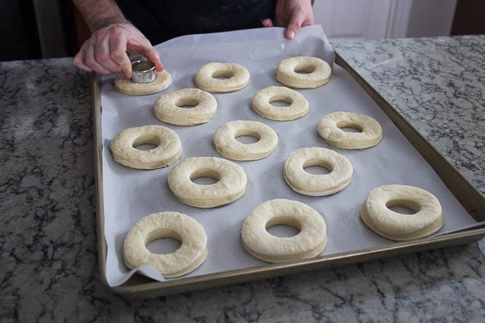 Cut out the doughnut holes...save those for later...nobody will ever know...