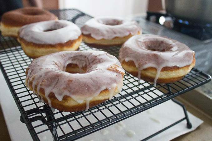 Glaze if you want. just drop them in and turn them over!